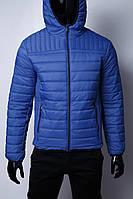 Куртка мужская демисезонная GS 1531_2 синяя