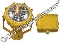 Прожектор ВАТ51-ПР из алюминия, 1ExdIIBT4 (до 1000Вт), сальники взрывозащищенные, фото 1