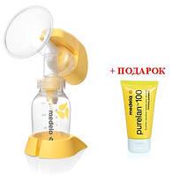 Акция: Электрический молокоотсос(Mini Electric)+Крем для сосков (37 гр.) Purelan 100