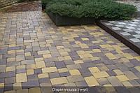 Тротуарная плитка Старая площадь 80 мм - генуя