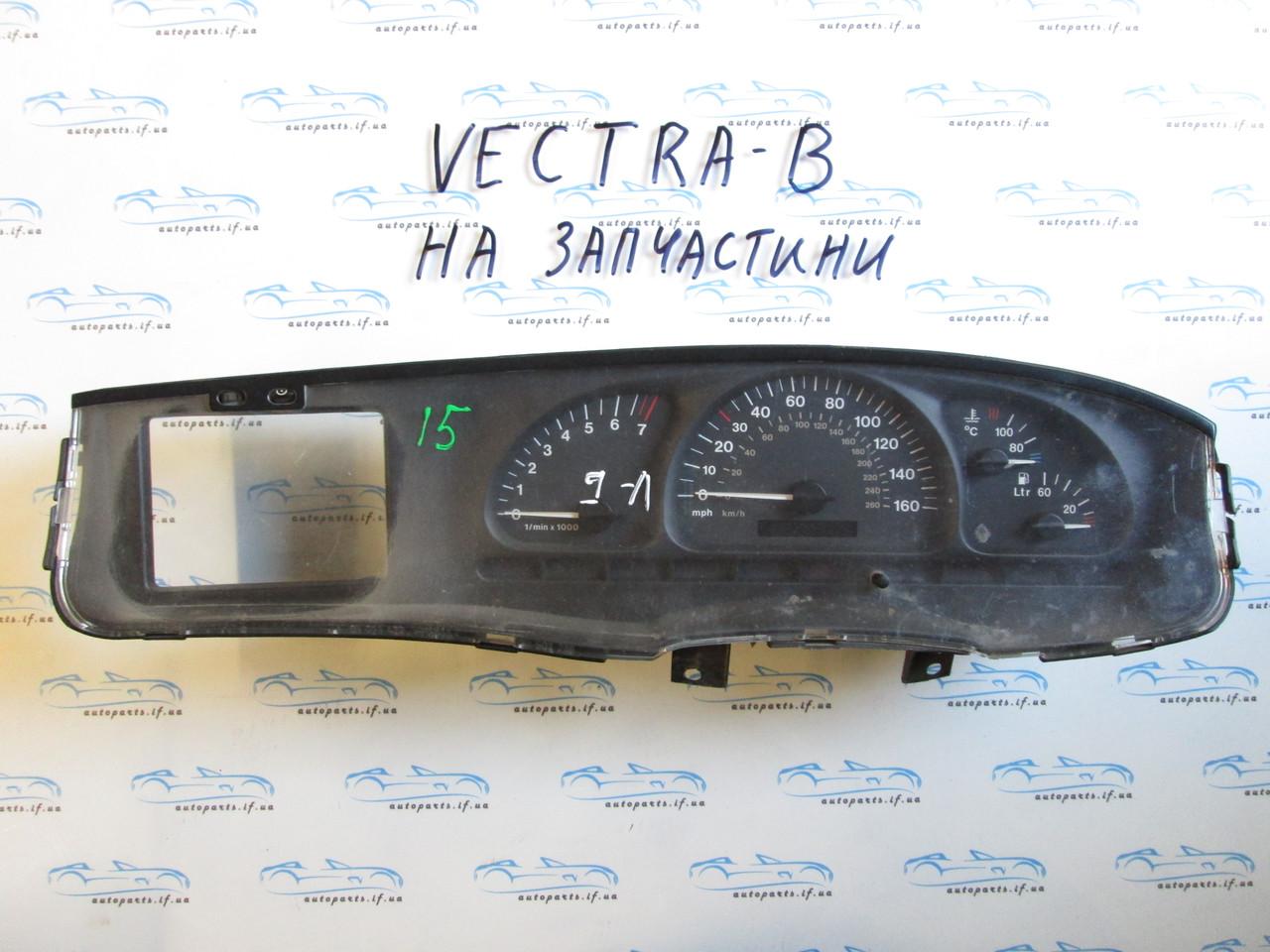 Панель приборов Опель Вектра Б, opel Vectra B №15 на запчасти