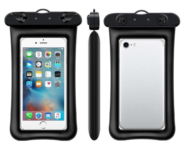 Водонепроницаемый плавающий чехол аквабокс для телефона 4.0-5.5 дюйма универсальный прозрачный Oxo
