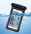 Водонепроницаемый плавающий чехол аквабокс для телефона 4.0-5.5 дюйма универсальный прозрачный Oxo, фото 2
