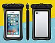 Водонепроницаемый плавающий чехол аквабокс для телефона 4.0-5.5 дюйма универсальный прозрачный Oxo, фото 4