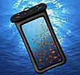 Водонепроницаемый плавающий чехол аквабокс для телефона 4.0-5.5 дюйма универсальный прозрачный Oxo, фото 3