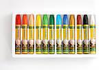 Олійна пастель для тонування фоамирана, в наборі 12 кольорів – Топ продажів!, фото 3
