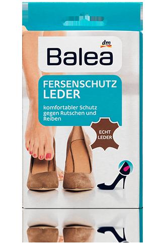 Кожаные задники для обуви Balea Fersenschutz Leder, 1 пара.