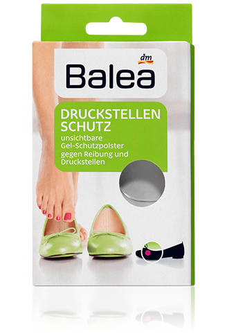 Гелевые мини-вкладыши для обуви Balea Druckstellenschutz, 6 шт., фото 1