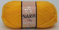 Nako Baby Super Bebe жёлтый № 184