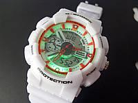 Часы наручные Casio G-Shock 3187 белые с белым циферблатом