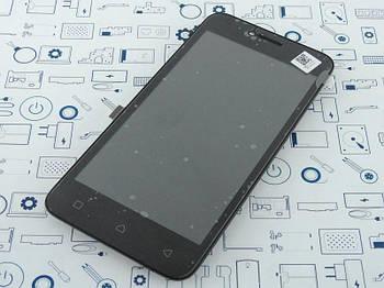 Дисплей Lenovo А Plus A1010a20 модуль черный Cервисный оригинал с разборки
