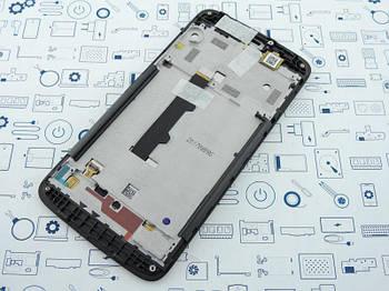 Дисплей Motorola C XT1750 модуль серый Сервисный оригинал