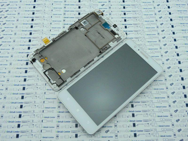 New. Lenovo A536 дисплей (модуль) в корпусе Белый