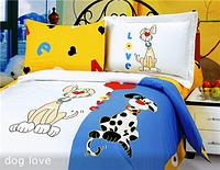Набор постельного белья в кроватку Le Vele Dog-love