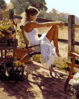 Картина по номерам Женственность. Худ. Стив Хэнкс, 40x50 см Mariposa