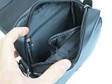 Кожаная сумка мужская Always Wild 5047SPN черная, фото 9