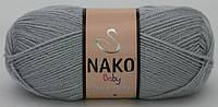 Nako Baby Super Bebe серый № 4895