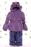 Куртка весна-осень и полукомбинезон  Кроха   для девочек, фото 6