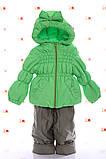 Куртка весна-осень и полукомбинезон  Кроха   для девочек, фото 7