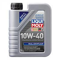 Полусинтетическое моторное масло LiquiMoly MoS2 Leichtlauf SAE 10W-40 1 л.