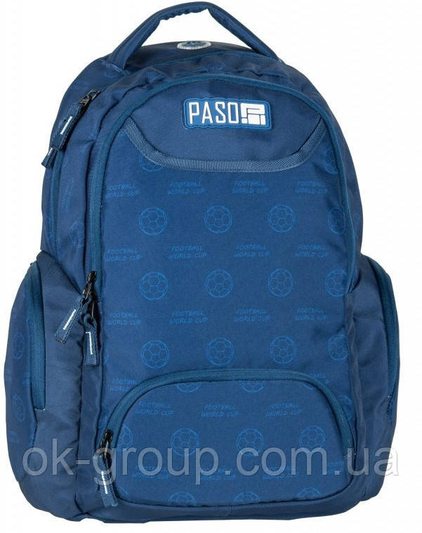 Молодежный рюкзак PASO 22L, 17-2908UN синий
