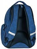 Молодежный рюкзак PASO 22L, 17-2908UN синий, фото 4