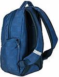 Молодежный рюкзак PASO 22L, 17-2908UN синий, фото 5