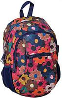 Молодежный рюкзак PASO 24L 14-178I разноцветный