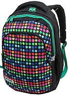 Молодежный рюкзак PASO 18L, 00-699PAN разноцветный