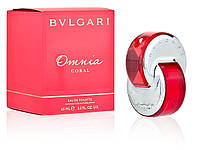 Женская туалетная вода Omnia Coral Bvlgari (легкий, яркий, летний аромат)