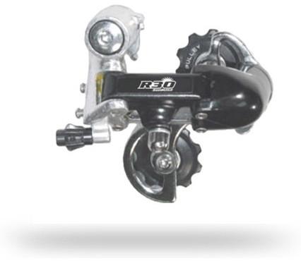 Переключатель задний инд. SUN RACE R31 7-k короткая лапка Bottom-Pull