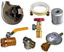 ГАЗОВЫЕ ПРИНАДЛЕЖНОСТИ (вентиляторы, редукторы, фильтры, шланги, краны)