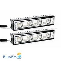Дневные ходовые огни Nolden LED Premium Line Short 3° ML-019 1742.1 chrom (2 x 4 LED)