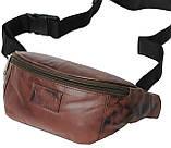 Поясная сумка из кожи Always Wild 907-TT brown, фото 2