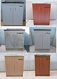 Мийка кухонна 60на50 з тумбою (комплект), фото 8