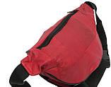 Кожаная поясная сумка Cavaldi 903-353 red, красный, фото 10