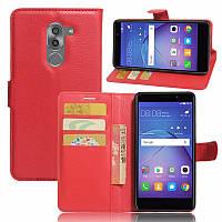 Чехол-книжка Litchie Wallet для Huawei GR5 2017 Красный