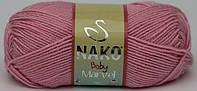 Пряжа Nako Baby Marvel 229/ Bambino 9009