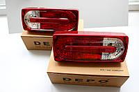 Задние фонари рейстайлинговые для Mercedes-Benz G-klasse (W463) 90-