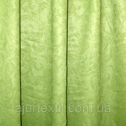 """Штора софт """"Зелена гілочка"""", фото 2"""