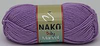 Nako Baby Marvel / Bambino marvel сиреневый № 11062 / 9011