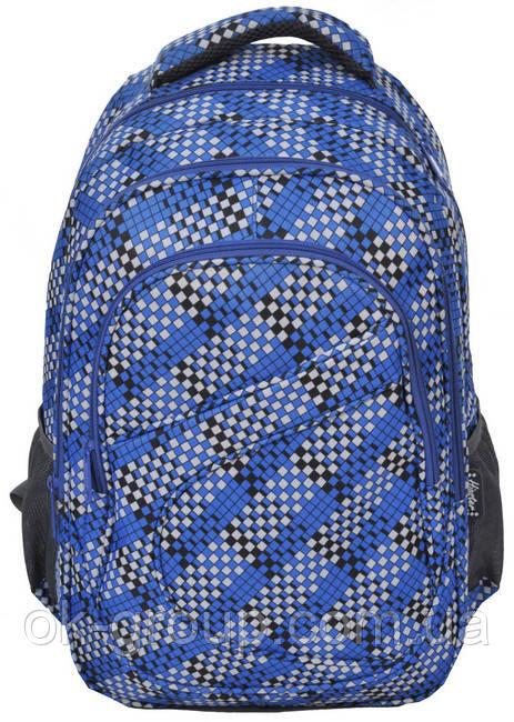 Молодежный рюкзак PASO 21L 15-8115C синий
