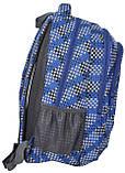 Молодежный рюкзак PASO 21L 15-8115C синий, фото 2