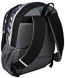 Молодежный рюкзак PASO 21L 15-367C черный/серый, фото 2