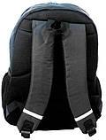 Стильный рюкзак с принтом PASO 21L 15-367E черный, фото 3