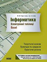 Зошит Інформатика Електронні таблиці EXCEL