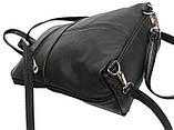 Женский рюкзачок 4U Cavaldi PC-1A-2 кожзам черный 6 л, фото 9