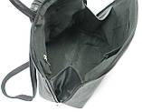 Женский рюкзачок 4U Cavaldi PC-1A-2 кожзам черный 6 л, фото 10