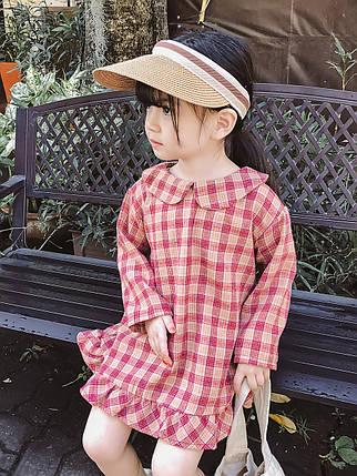 Платье детское в клетку , фото 2