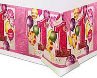Скатерть 1 годик для девочки  Мой первый День рождения
